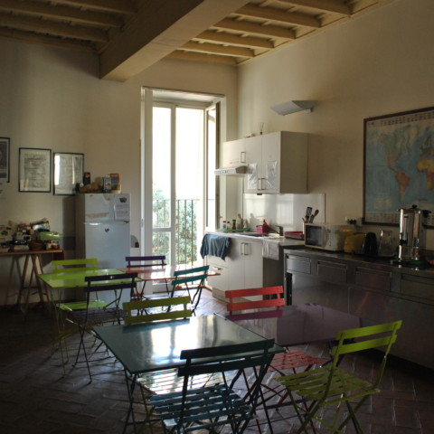 L'hôtel dispose d'une vingtaine de chambres et d'une cuisine commune./©Marie Gendra