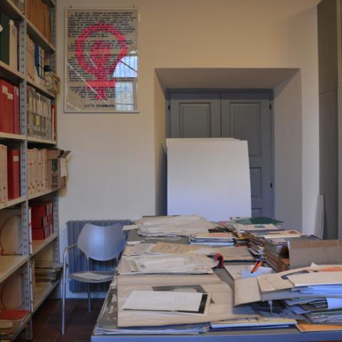 La bibliothèque regroupe toutes les archives sur l'histoire du féminisme à Rome./©Émilie Garcia